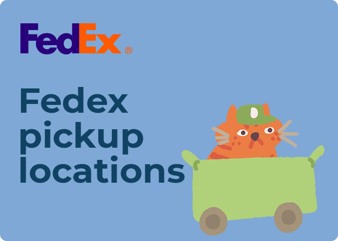 fedex pickup locations