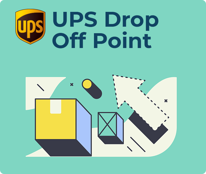 UPS Drop Off Point